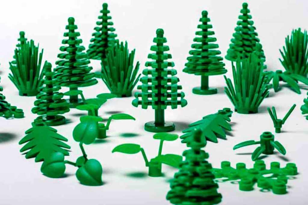 lego estuda meios para substituir o plástico em seus brinquedos