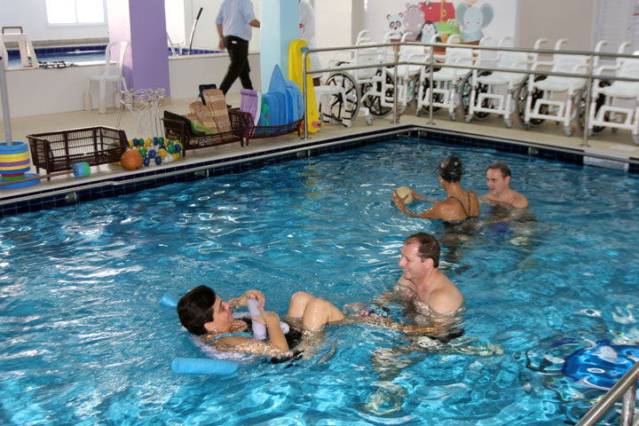 aacd avança no setor de reabilitação aquática