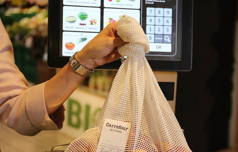 carrefour espanha adota sacos de algodão em vez de plásticos