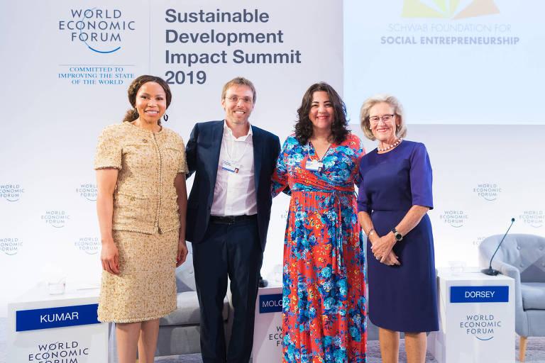 conheça os 40 líderes sociais premiados pela fundação schwab