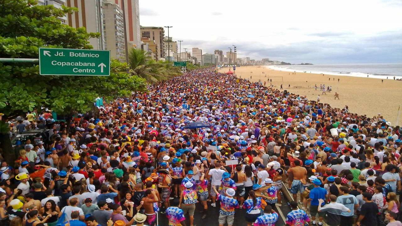 carnaval do RJ teve 6,4 milhões de foliões, segundo prefeitura