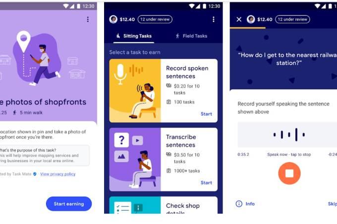 google lança app task mate que paga usuários por tarefas concluídas