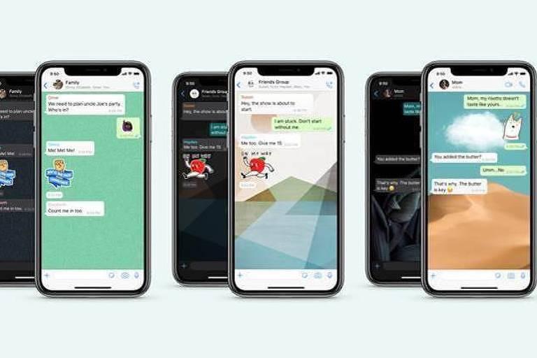 usuários do whatsapp podem contar com o recurso de pesquisar figurinhas